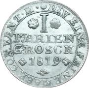 1 Mariengroschen - George IV. – reverse