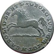 1/12 Thaler - George IV Regent of Karl II – obverse
