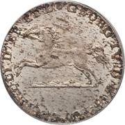 1/12 Thaler - George IV Regent – obverse