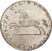1/12 Thaler - Karl II – obverse