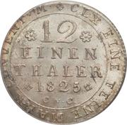 1/12 Thaler - Karl II – reverse
