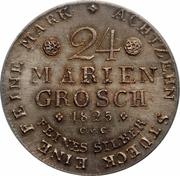 24 Mariengroschen / ⅔ Thaler - Karl II – reverse