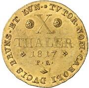 10 Thaler - Georg IV – reverse