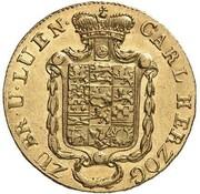 5 Thaler - Karl II – obverse