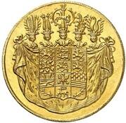 1 Ducat - Karl II (Harz-Mining Ducat) – obverse