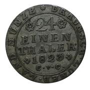 1/24 Thaler - George IV. – reverse