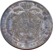 2 Thaler / 3½ Gulden - Wilhelm – reverse