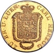 10 Thaler - Karl II – obverse