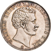 1 Vereinsthaler - Wilhelm -  obverse