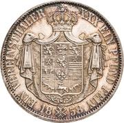 1 Vereinsthaler - Wilhelm -  reverse