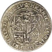 ¼ Thaler - Heinrich Julius (Death) – obverse