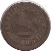 1 Pfennig - August Wilhelm – obverse