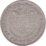 24 Mariengroschen - Karl Wilhelm Ferdinand – reverse