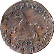1 Pfennig - Ludwig Rudolph – obverse