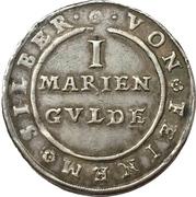 1 Mariengulden - Friedrich Ulrich – reverse