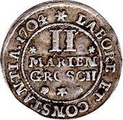 2 Mariengroschen - Anton Ulrich – reverse