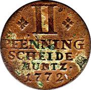 2 Pfenning - Karl I – reverse