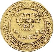 1 Ducat - Christian, Bischof von Halberstadt (Pfaffenfeinddukat) – obverse