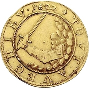1 Ducat - Christian, Bischof von Halberstadt (Pfaffenfeinddukat) – reverse