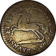 4 Pfennig - Karl I. – obverse