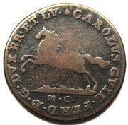 2½ Pfennig - Karl Wilhelm Ferdinand – obverse