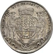 1 Thaler - Karl I. (Ausbeutetaler) – obverse