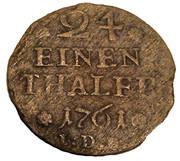 1/24 Thaler - Karl I. – reverse