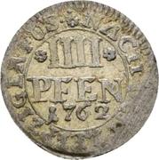4 Pfennig - Charles I (Braunschweig) – reverse