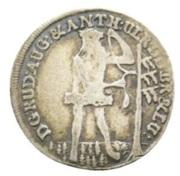 2 Mariengroschen - Rudolf August and Anton Ulrich – obverse