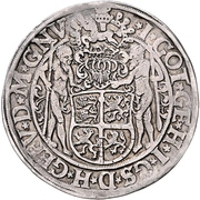 1 Thaler - Heinrich the younger – reverse
