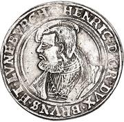 1 Thaler - Heinrich the younger – obverse