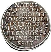 ¼ Thaler - Heinrich Julius (Death) – reverse