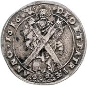 ¼ Thaler - Friedrich Ulrich (1/4 Ausbeutetaler) – reverse