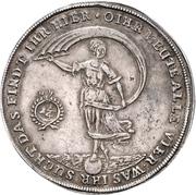 1¼ Thaler - Friedrich Ulrich (Glückslöser; Ausbeute) – reverse