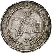 1 Thaler - August (Glockentaler) – reverse