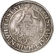 1 Thaler - Heinrich der Jüngere und Erich der Jüngere von Calenberg – reverse