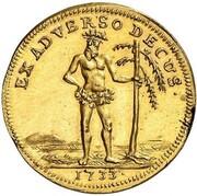 1 Ducat - Ludwig Rudolf (Mule) – obverse