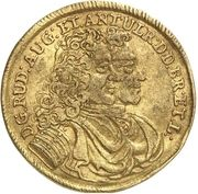 1 Ducat - Rudolph August and Anton Ulrich – obverse