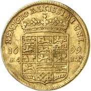 1 Ducat - Rudolph August and Anton Ulrich – reverse