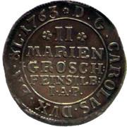 2 Mariengroschen - Karl I – obverse