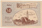 50 Heller (Bubendorf, Meilersdorf, Wolfsbach) – obverse