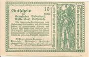 10 Heller (Bubendorf, Meilersdorf, Wolfsbach) – reverse