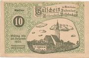 10 Heller (Bubendorf, Meilersdorf, Wolfsbach) – obverse