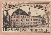 10 Heller (Buchkirchen) -  obverse