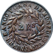 2 Reales -  obverse