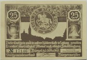 25 Pfennig (Hunting Series - Issue 1) – obverse
