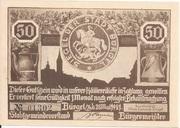 50 Pfennig (Hunting Series - Issue 3) – obverse