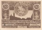 50 Pfennig (Hunting Series - Issue 4) – obverse