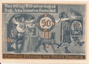 50 Pfennig (Hunting Series - Issue 4) – reverse