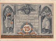 75 Pfennig (Hunting Series - Issue 6) – reverse
